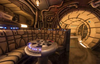 Disneyland Star Wars: Galaxy Edge - famous Dejarik table