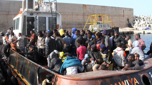 Oil tanker workers helped rescue 135 people from boats off Libya
