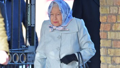 Queen Elizabeth II arrives at King's Lynn railway station in Norfolk, ahead of boarding a train as she returns to London after spending the Christmas period at Sandringham House in north Norfolk