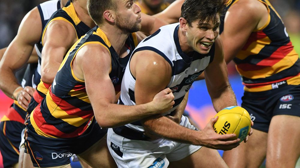 Cats beat Crows in AFL table-topper