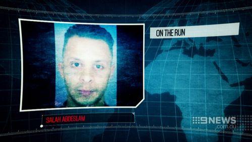 Salah Abdeslam remains on the run. (9NEWS)