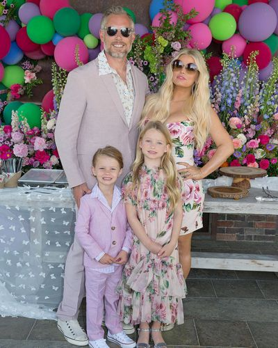 <p>Jessica Simpson and her daughter Maxwell Drew.</p>