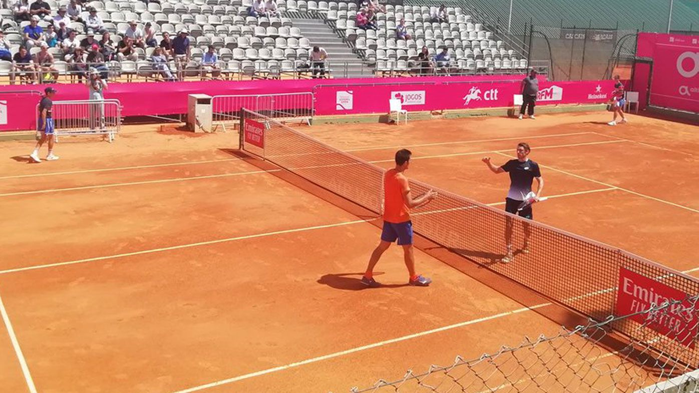 Bernard Tomic 'up to his old tricks again' in straight sets loss to John Millman at Estoril Open