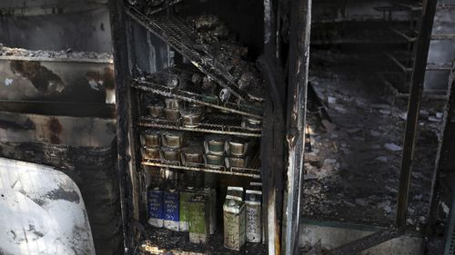 Authorities have said initial indications are that the blaze was ignited accidentally by someone burning garden waste.