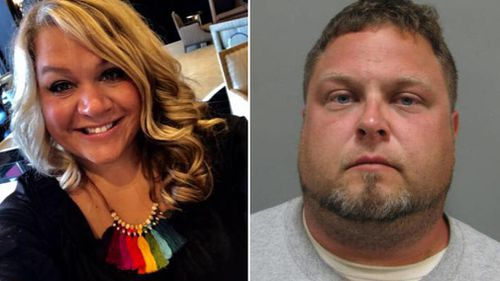 Mr Tessier made plea for Ms Wallen's safe return just last week, taking frequent breaks to choke back tears. (Facebook/Montgomery County Police Department)