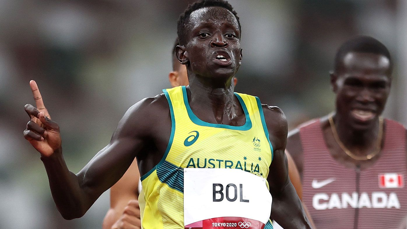 Peter Bol becomes first Australian in 53 years to make 800 metre Olympic final
