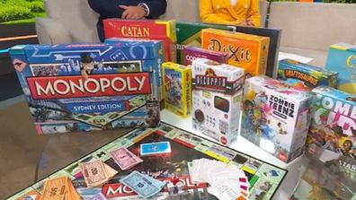Today Show board games segment for school holidays