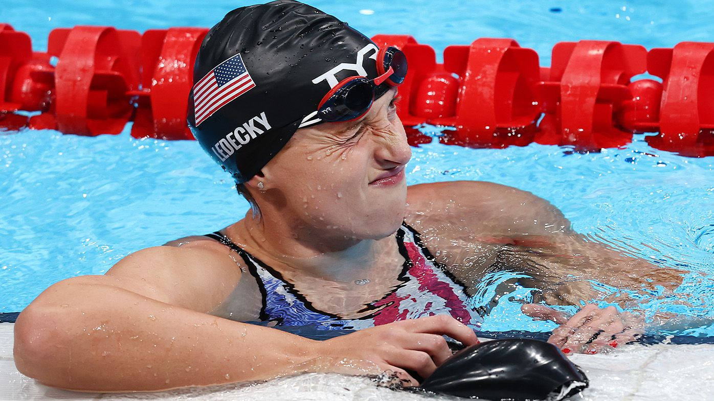 'Ariarne Titmus 2, Katie Ledecky 0': USA in shock after national icon dethroned by rising Aussie golden girl