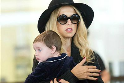 <b>Parents</b>: Rachel Zoe and Rodger Berman<p>Celebrity stylist Rachel Zoe and her hubby welcomed a baby boy in March</p>