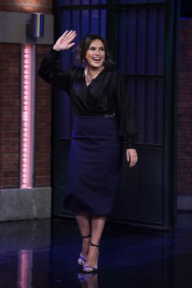 Mariska Hargitay, Late Night With Seth Meyers