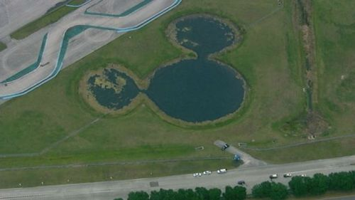 The race track is located at Walt Disney World in Florida. (WFTV)