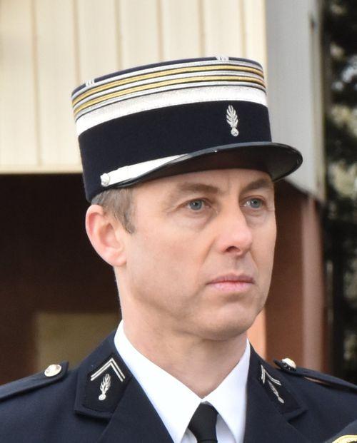 Arnaud Beltrame married his partner, Marielle, on his  deathbed yesterday. (AAP)