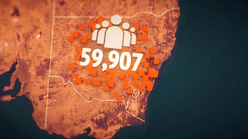 More than 59,000 people await public housing in NSW.