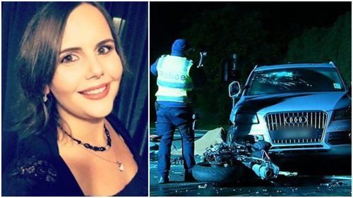Emily, 27, died trying to help a motorcyclist.