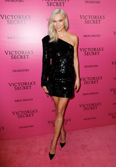 Karlie Kloss in RTA Brand at the 2017 Victoria's Secret Fashion Show After Party