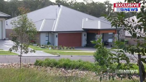 Homes in the new estate are worth around $500,000 for house and land. Picture: 9NEWS