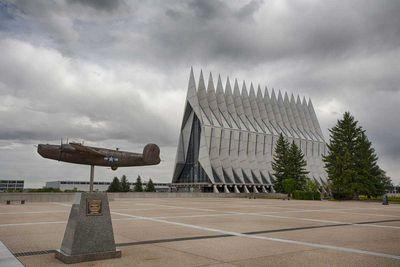 United States Air Force Academy Cadet Chapel in Colorado Springs, Colorado