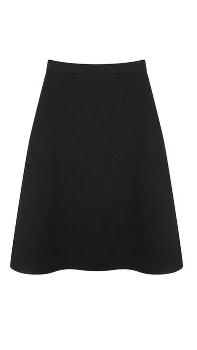 """<a href=""""https://www.mychameleon.com.au/midi-line-skirt-p-2750.html?typemf=women"""">Midi A-line Skirt, $276, Être Cécile</a>"""