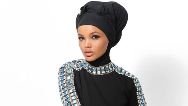 Halima Aden - the brave Muslim model who is doing it her way. Image: Instagram/@kinghalimaa