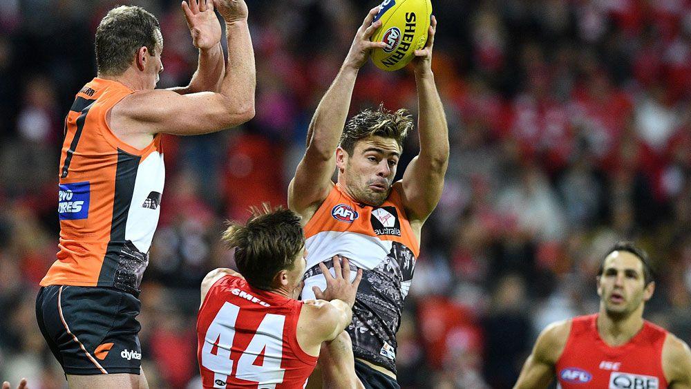 Giants thump Swans in Sydney AFL derby