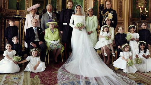 The official photographs of the royal wedding were taken by renowned photographer Alexi Lubomirski.