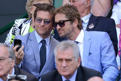 Move over Men in Black, it was all about the blue suit at the Wimbledon Championships in July. Bradley Cooper and Gerard Butler couldn't resist this smouldering snap, channelling their best blue steel impersonations. <br/><br/>Image: Getty