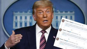 Donald Trump and censored tweets