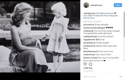 <p>Actress Malin Akerman just posted a throwback photo of her and her mum - who is rocking the Charlie's Angels hairdo BTW. And Malin has inspired us here at 9Mums. So we've dug through our archives of vintage mother and daughter images, to celebrate that unique mother/daughter bond. And for extra viewing pleasure, we've popped in some recent photographs to see how they look all grown up.</p> <p>There's Madonna and Lordes, Demi and her three girls - even the late Queen Mum with baby Princess Margaret in a faded black and white snap from 1930. One thing we know for sure - these glorious girls get the IT factor from their mamas...</p>