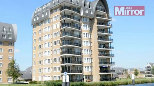 The $3.6 million Dutch apartment where Vladimir Putin's daughter Maria reportedly lives. (The Mirror)