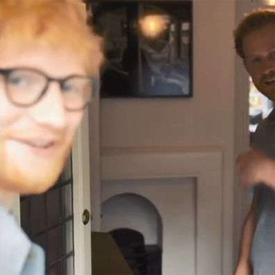 4 Prince Harry Ed Sheeran