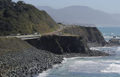 he California Highway Patrol has not determined why the vehicle went off the overlook on a particularly rugged part of coastline. (AAP)