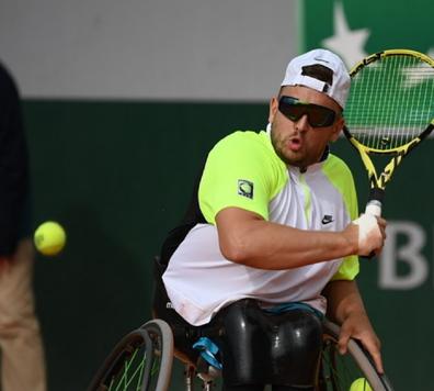 Dylan Alcott disability wheelchair tennis