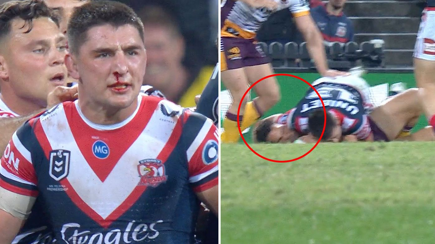 'He has to get in check': Roosters coach Trent Robinson admits Victor Radley needs to adjust physical approach