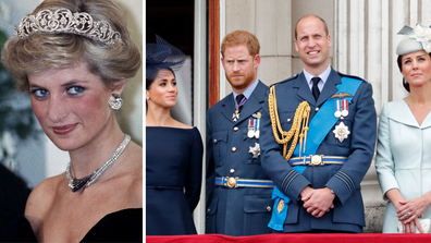 Would Diana have let the royal fab four split?