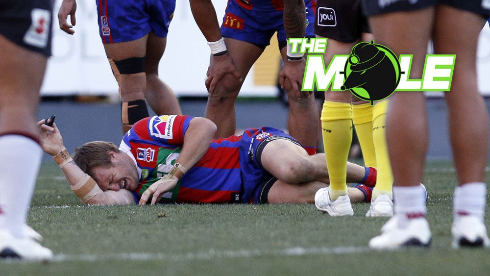 Newcastle Knights winger Nathan Ross suffered a broken back in win over NZ Warriors