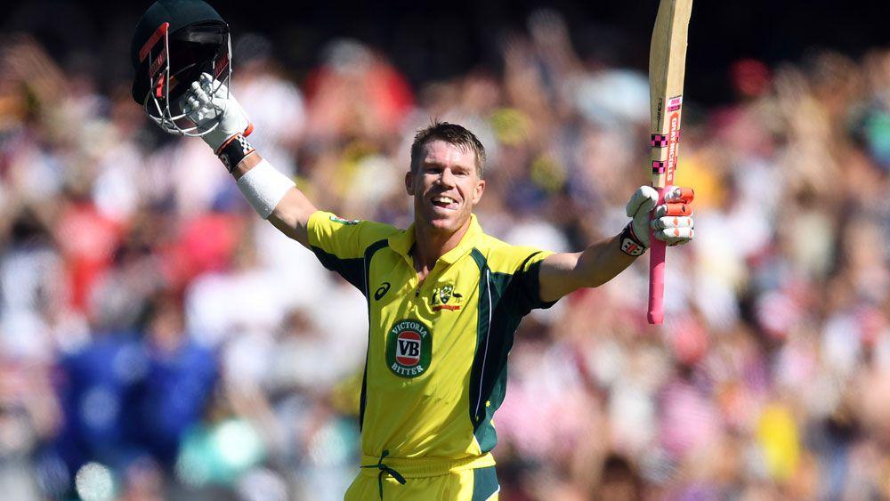 Warner is world No.1 ODI batsman for first time