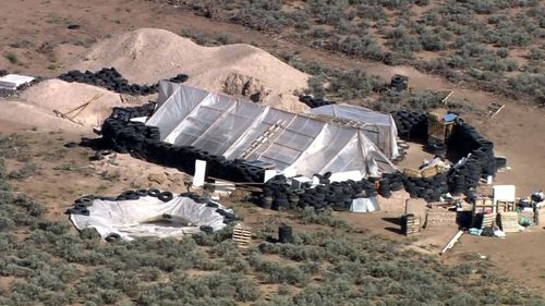 Authorities raided the isolated property near the Colorado border last week.