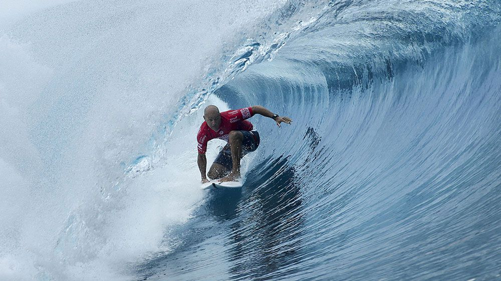 Perfect Slater wins Tahiti surf title