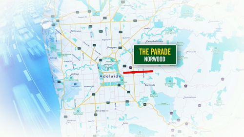 In Adelaide, The Parade in Norwood is considered the most dangerous.