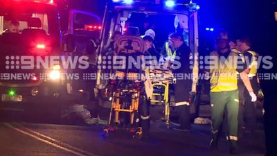 Pregnant woman and three children among eight  injured in Victoria crash