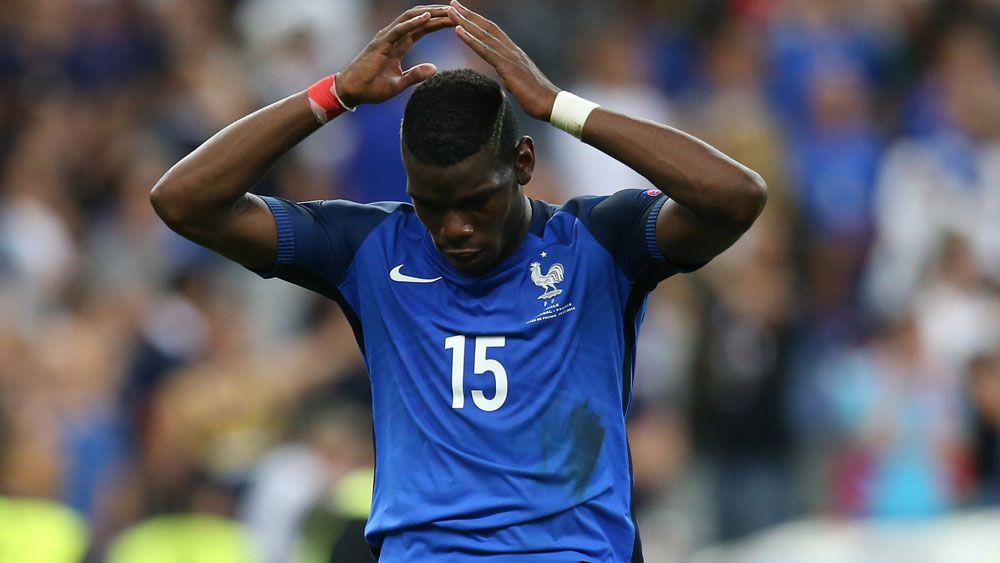 Juventus midfielder Paul Pogba. (AAP)