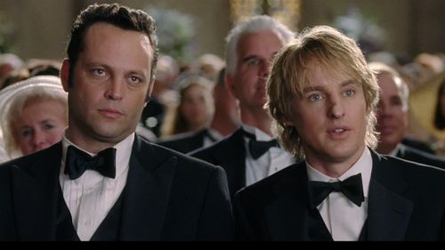 Vince Vaughn and Owen Wilson starred in the Wedding Crashers movie in 2005.