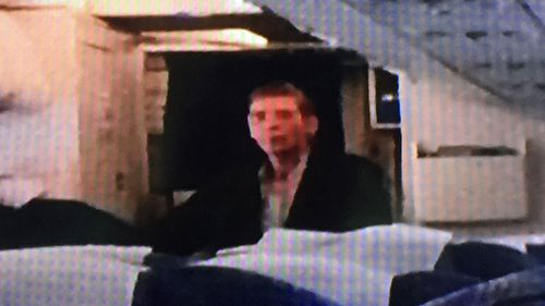 The hijacker, purportedly pictured above, is identified as Seif El Din Mustafa. Source: SKY
