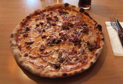Reindeer pizza