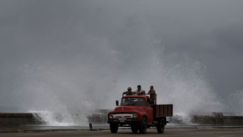 The hurricane has already brought severe weather to Cuba.
