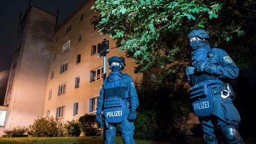 German police raided Mr Albakar's apartment. (AFP)
