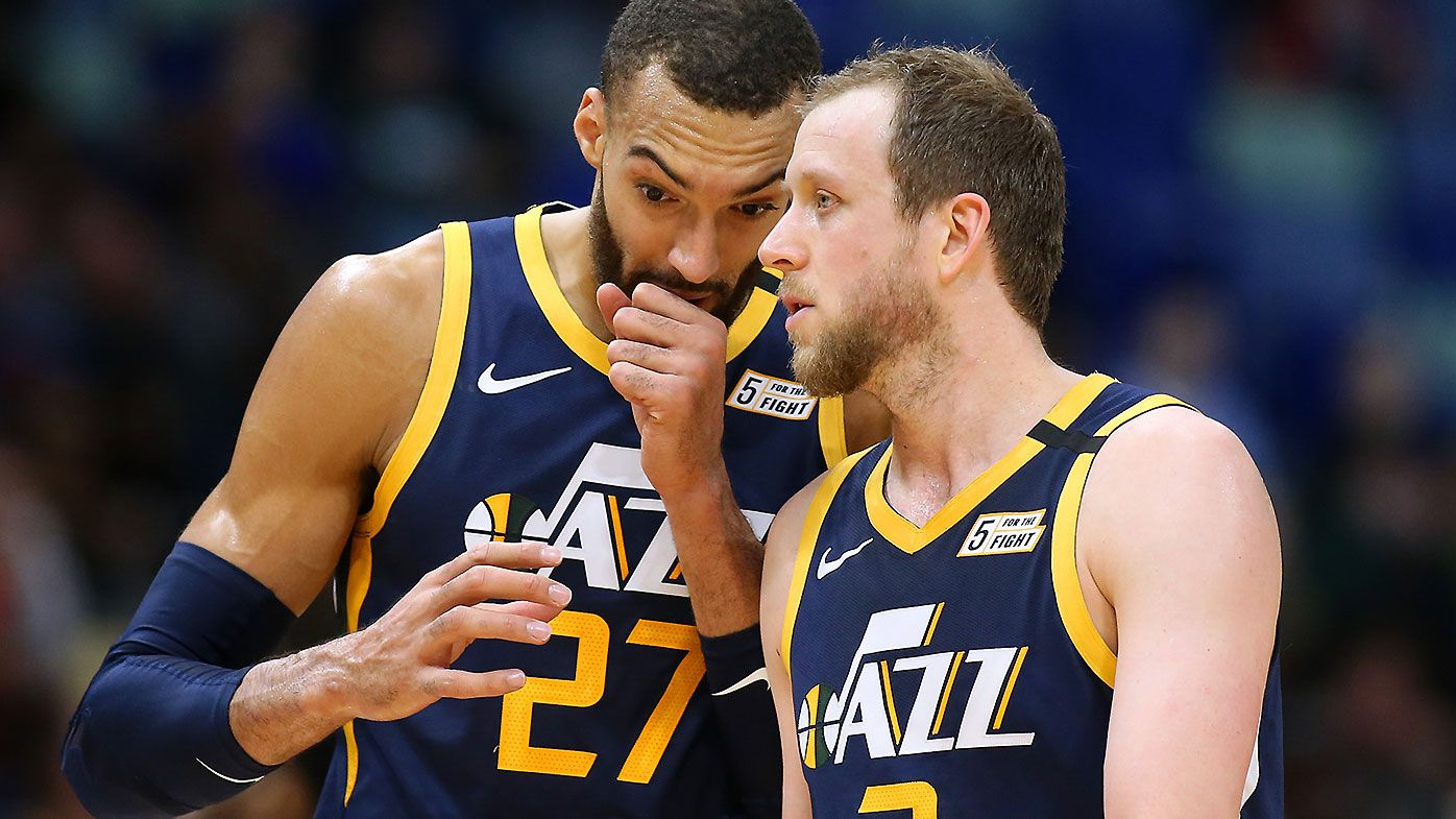 Rudy Gobert Joe Ingles