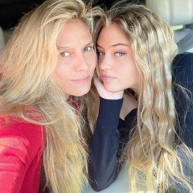 Heidi Klum and Leni