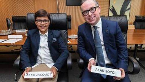 News Qantas Alex Jacquots budding executive meeting