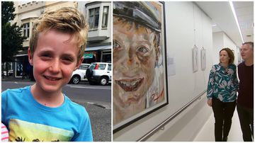 Art exhibit to remember boy, 8, who died from brain cancer